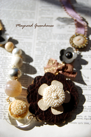 Pearls and Flower Cluster